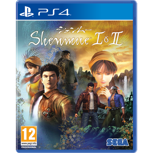 Shenmue I & II 	PS4 Game