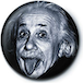 Albert Einstein - Tongue Badge - Image 2
