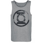 Green Lantern Washed Logo Unisex Large Premium Vest