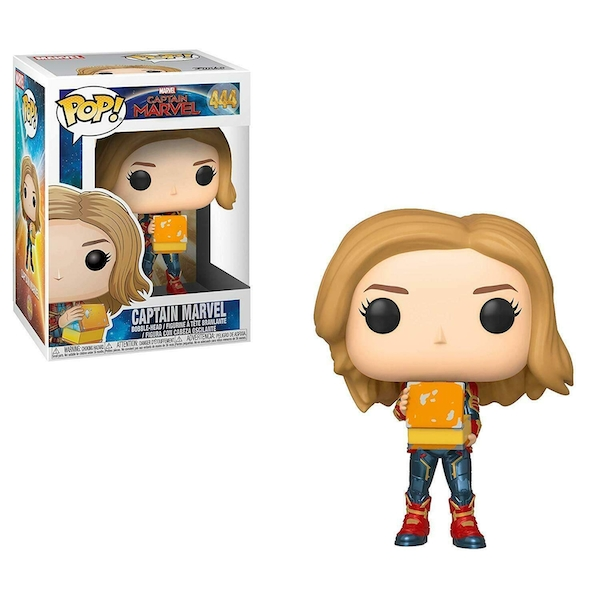 Captain Marvel with Lunch Box (Captain Marvel) Funko Pop! Vinyl Figure #444