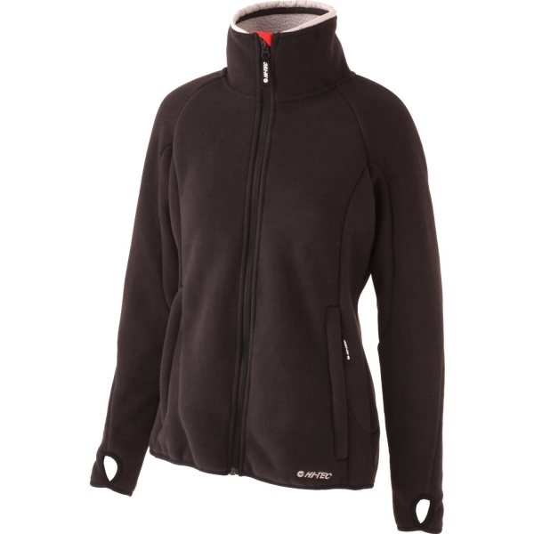 Hi-Tec Women's Large Black/Shadow Traful Fleece