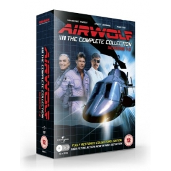 Airwolf Seasons 1-3 DVD - Image 1