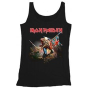 Iron Maiden Trooper Mens Vest: Small