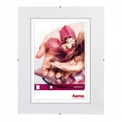 Clip-Fix Frameless Picture Holder Anti-reflective glass (30x30cm)