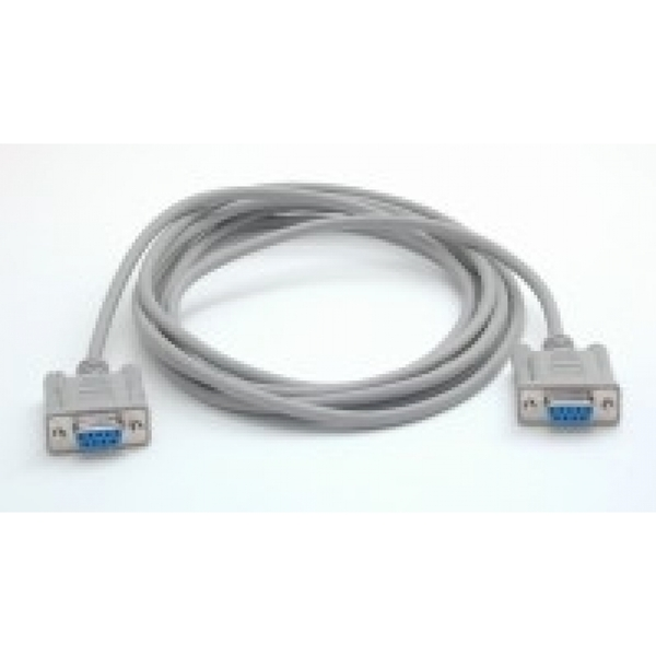 Image of StarTech Serial Null modem cable - DB-9 (F) - DB-9 (F) - 3 m