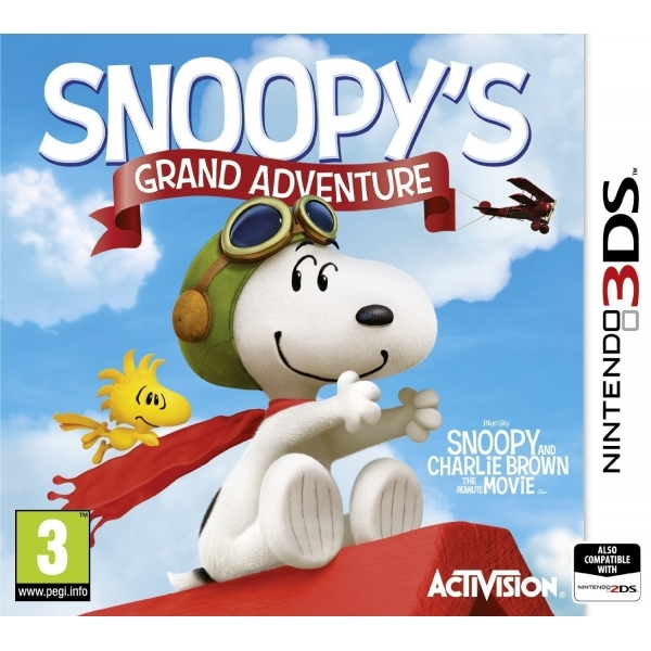 The Peanuts Movie Snoopy's Grand Adventure 3DS Game