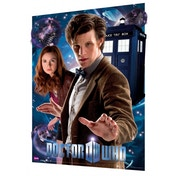 Doctor Who The Doctor and Amy 3D Poster
