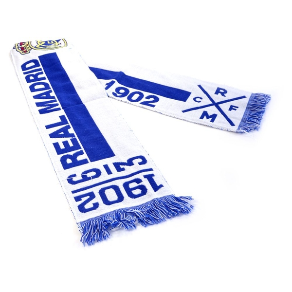 Real Madrid Since Scarf Blue
