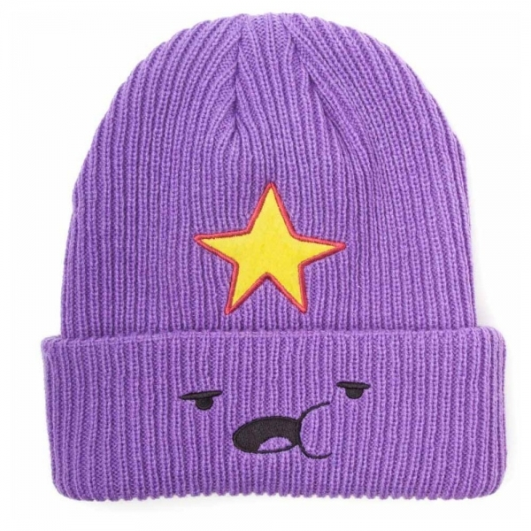Adventure Time Lumpy Space Princess Face Fisherman Beanie