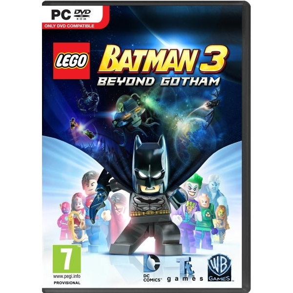Lego Batman 3 Beyond Gotham PC Game (Boxed and Digital Code)