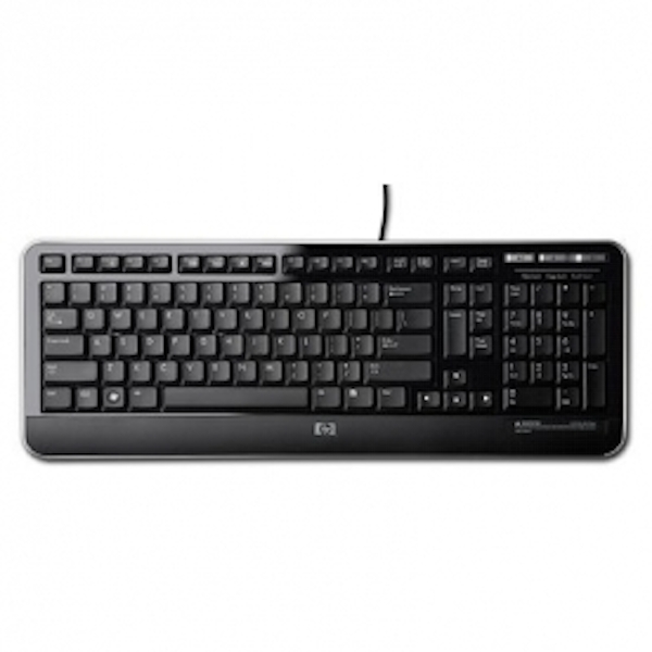 HP USB Keyboard United Kingdom - (Keyboards Keyboards)