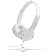 Groov-e GV897WE Streetz Stereo Headphones with Volume Control White