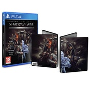 Middle Earth Shadow of War Silver Edition + Steelbook PS4 Game
