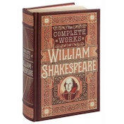 Complete Works of William Shakespeare (Barnes & Noble Omnibus Leatherbound Classics) by William Shakespeare (Hardback, 2015)