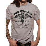Foo Fighters 'There Is Nothing To Lose' Men's Small T-Shirt - Grey
