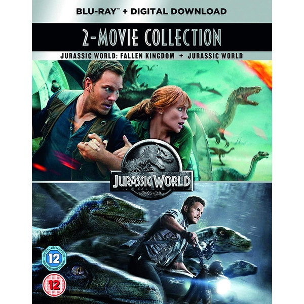 Jurassic World 2-Movie Collection Blu-ray