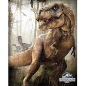 Jurassic World T-Rex Mini Poster