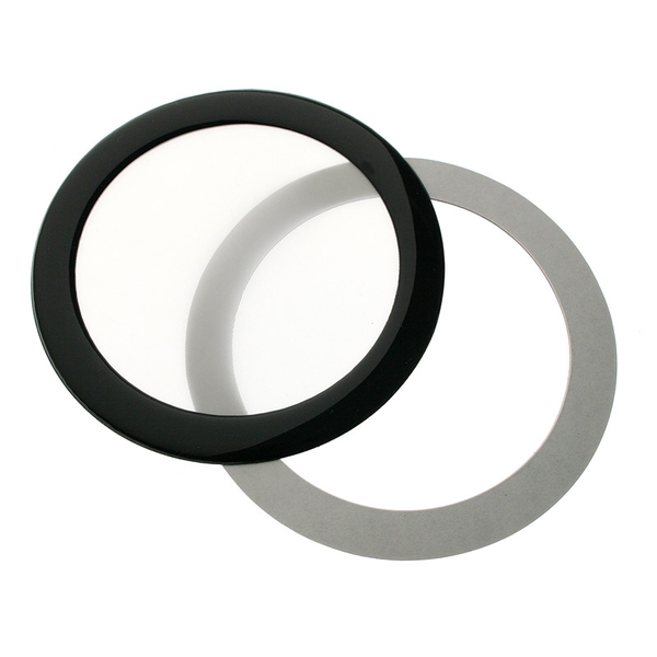 DEMCiflex Dust Filter 92mm Round - Black/White