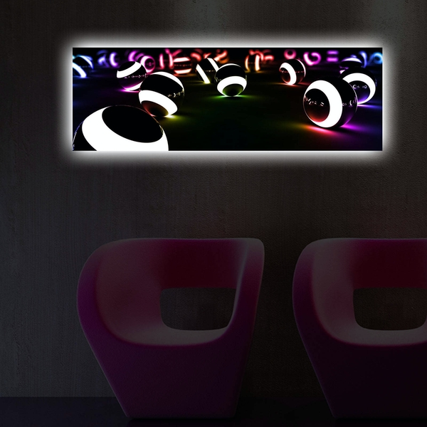 3090DACT-50 Multicolor Decorative Led Lighted Canvas Painting