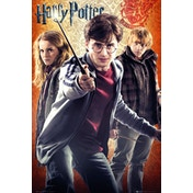 Harry Potter 7 Trio Maxi Poster