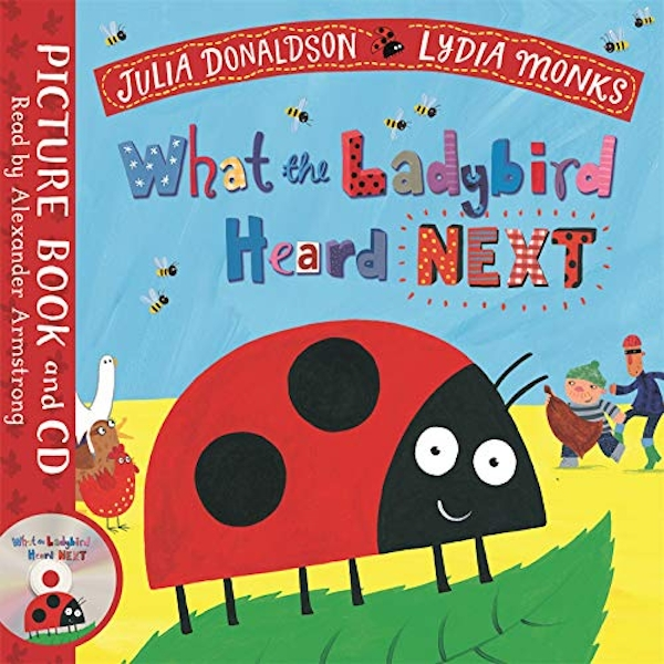 What the Ladybird Heard Next Book and CD Pack Book 2018