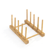 Set of 4 Bamboo Trivets with Storage Rack | M&W - Image 5
