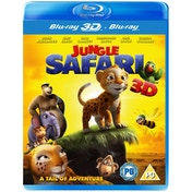 Jungle Safari 3D (3D Blu Ray   Blu Ray) [Blu-ray]