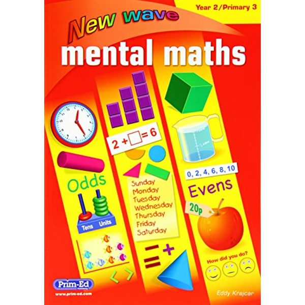 NEW WAVE MENTAL MATHS YEAR 2 PRIMARY 3  2016