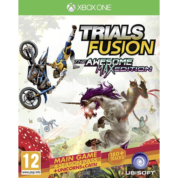 Trials Fusion The Awesome Max Edition Xbox One Game (Includes Season Pass)