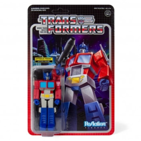 Optimus Prime (Transformers) Super 7 ReAction Figure