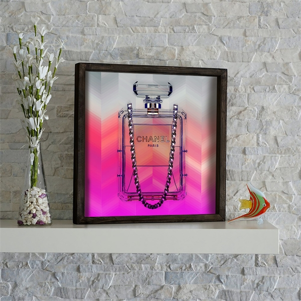 KZM511 Multicolor Decorative Framed MDF Painting