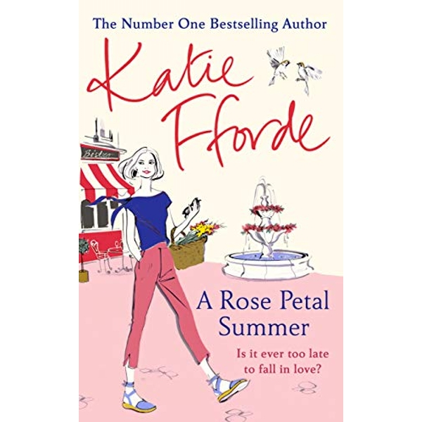 A Rose Petal Summer by Katie Fforde (Hardcover, 2019)