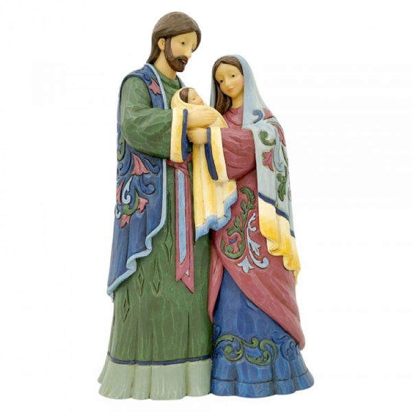 Holy Infant, Born of Grace (One Piece Holy Family) Figurine