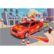 Revell Fire Chief Car 1:20 Scale Level 1 Junior Kit