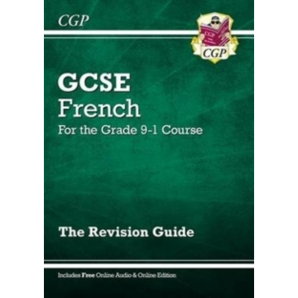 New GCSE French Revision Guide - for the Grade 9-1 Course (with Online Edition) by CGP Books (Paperback, 2016)