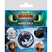 How To Train Your Dragon - Familiar Faces Badge Pack - Image 2
