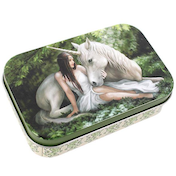 Anne Stokes Pure Heart Tin