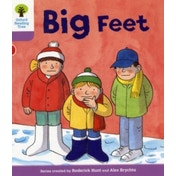 Oxford Reading Tree: Level 1+: First Sentences: Big Feet by Roderick Hunt, Gill Howell (Paperback, 2011)
