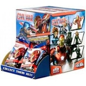 Marvel Heroclix Captain America Civil War Movie Gravity Feed - 24 Packs