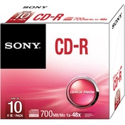 Sony 10 X 700MB/80MIN CDR SLIM CASES