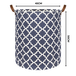 Laundry Basket with Drawstring Cover Large | M&W - Image 7