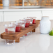 Wooden Drinks Paddle with 6 Shot Glasses | M&W - Image 6
