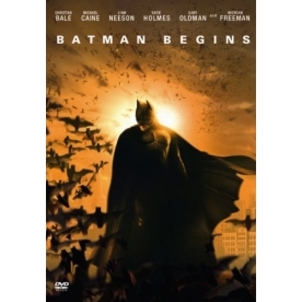Batman Begins - 1 Disc Edition DVD