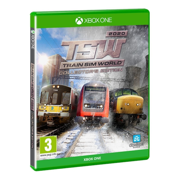 2020 Xbox One Games.Train Sim World 2020 Collector S Edition Xbox One Game