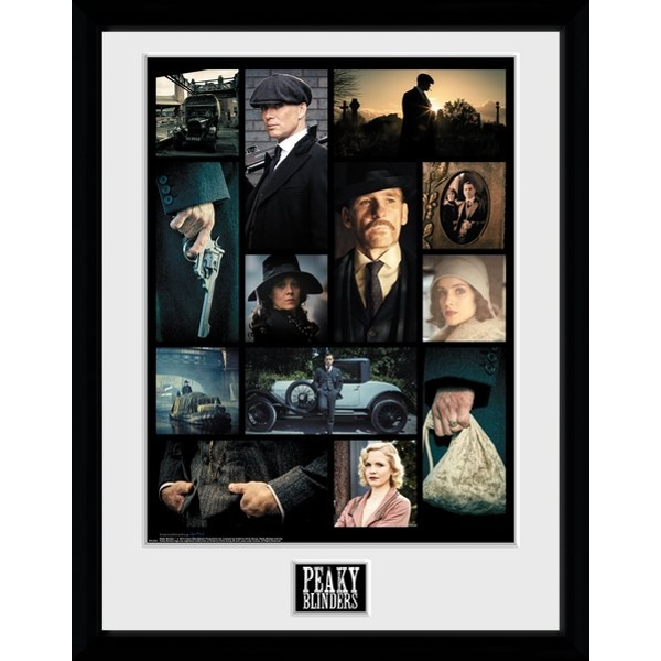 Peaky Blinders Grid Collector Print