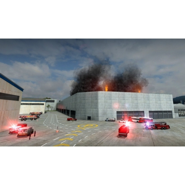 Airport Firefighter The Simulation PC Game  - Image 2