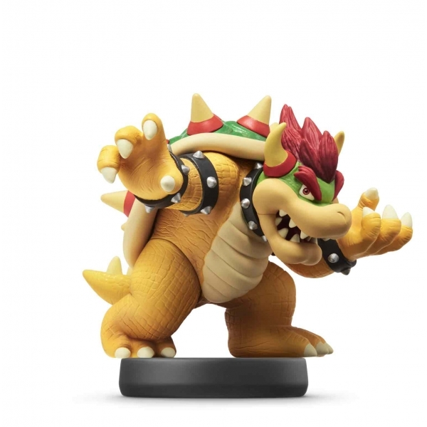 Bowser Amiibo No 20 (Super Smash Bros) for Nintendo Switch & 3DS