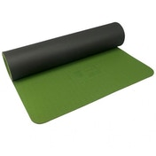 UFE 6mm TPE Yoga Mat - Olive/Charcoal