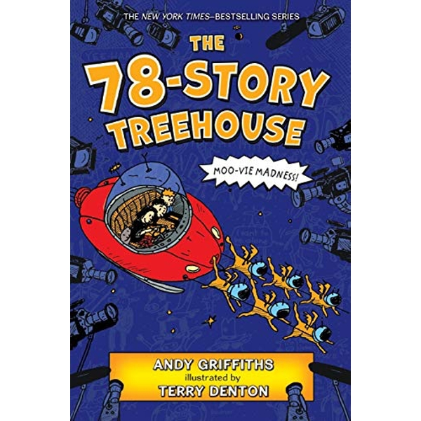 The 78-Story Treehouse Moo-vie Madness! Paperback 2019