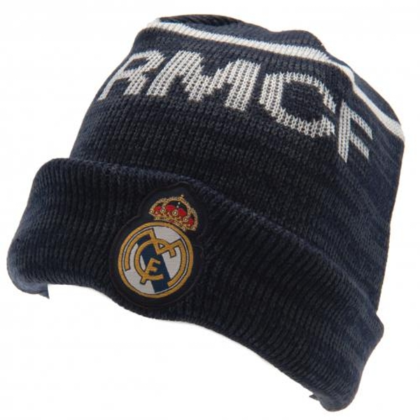 Real Madrid FC Turn Up Knitted Hat